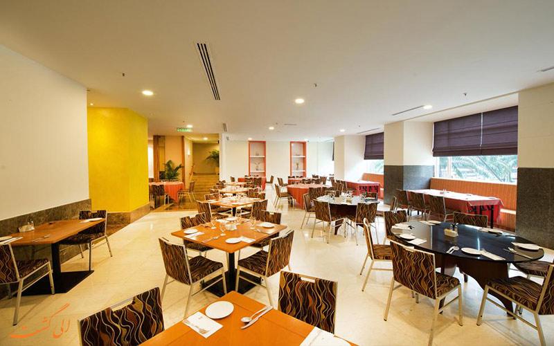 رستوران هتل رویال در مالزی