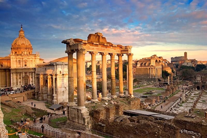 مقاومت بتن ساختمان های رم