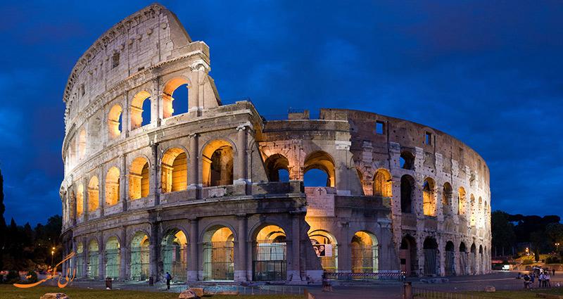 ساختمان های رم