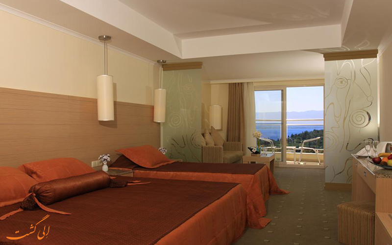اتاق هتل سی لایت با شم انداز دریا
