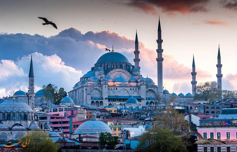 تور استانبول در الی گشت
