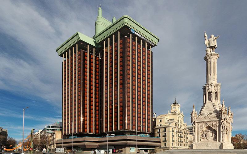 ساختمانی در مادرید