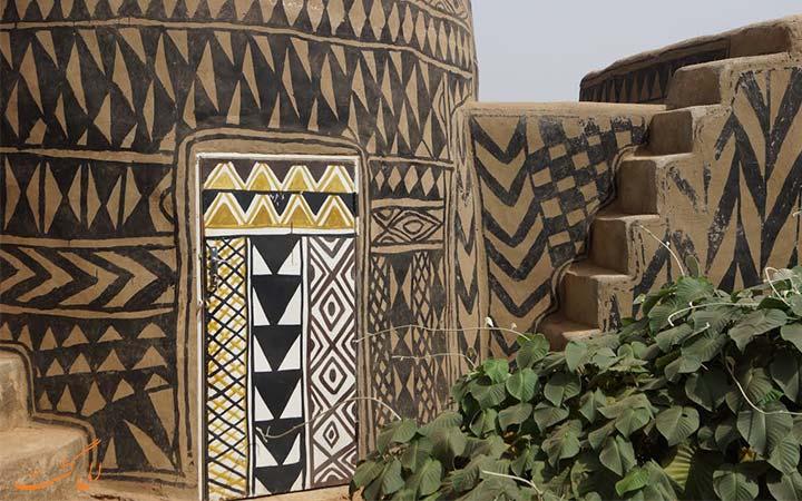 خانه های نقاشی شده در آفریقا