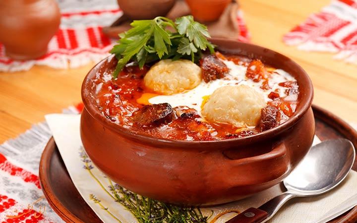 غذای سنتی بلاروس