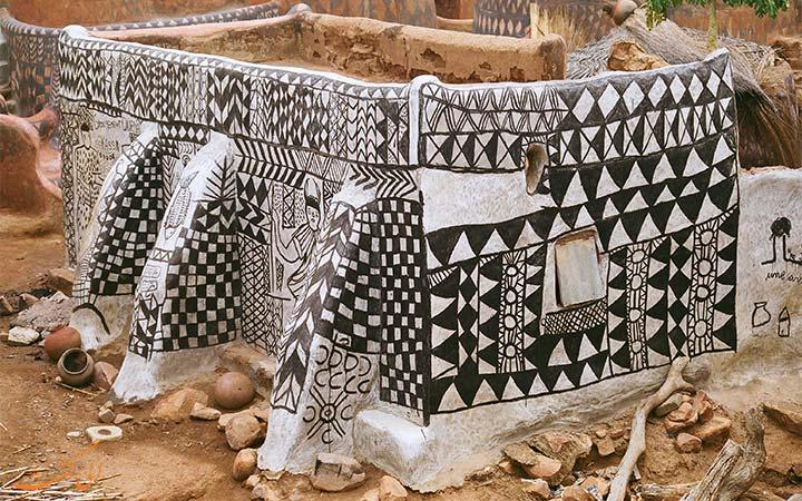 طرح خانه های روستایی در آفریقا