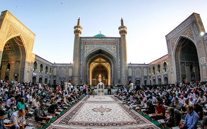 مراسم مذهبی در مسجدگوهرشاد