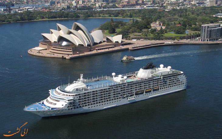 کشتی کروز در استرالیا