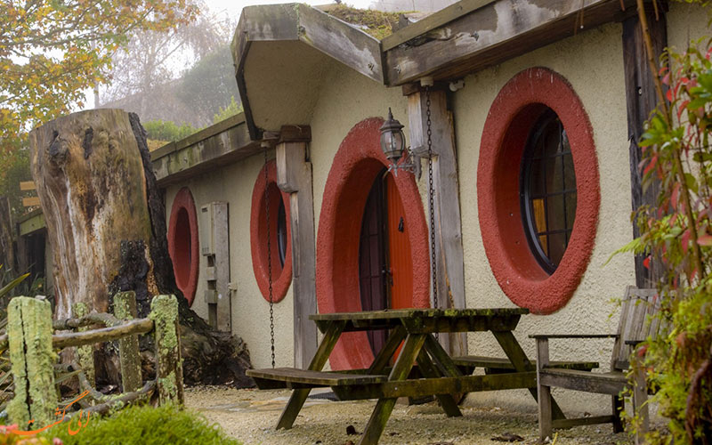 تعدادی از هتل های عجیب