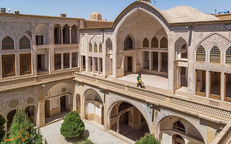 خانه عباسیان در شهر کاشان