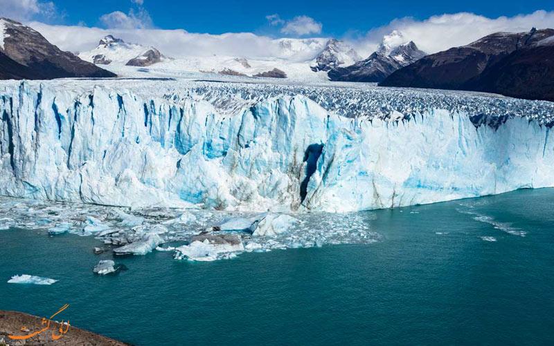 تکه های یخ