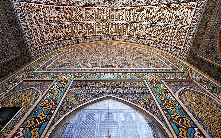 تزیینات مسجد گوهرشاد