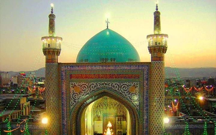 مناره های مسجد گوهرشاد