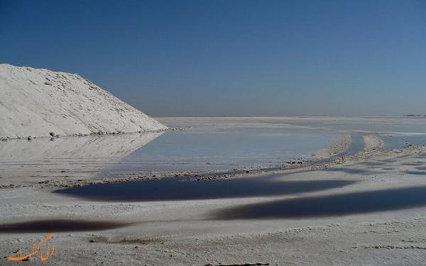 دریاچه کویری قم