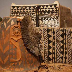 روستای تیه بله در آفریقا