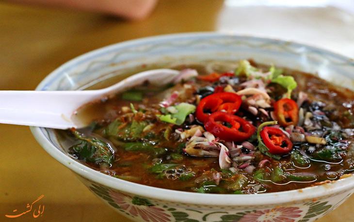غذاهای خیابانی پنانگ