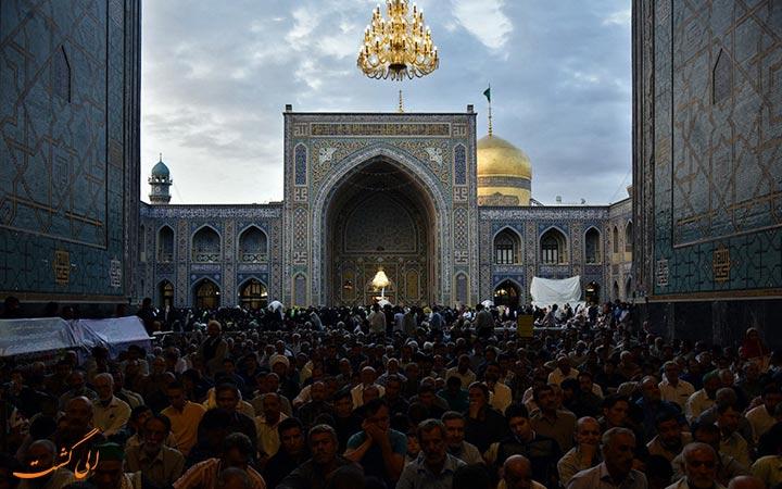 زائران مسجد گوهرشاد