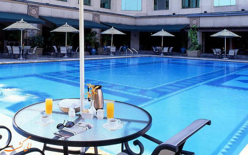 استخر هتل ماریوت در کوالالامپور