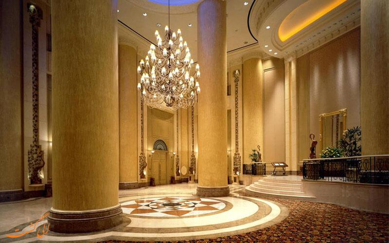 لابی هتل ماریوت مالزی