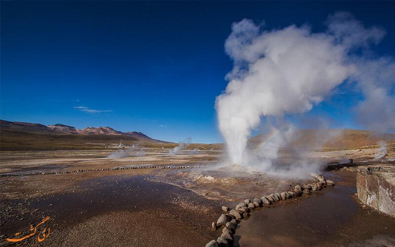 چشمه های آب گرم صحرای آتکاما