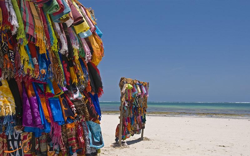 شال های سنتی در کنیا