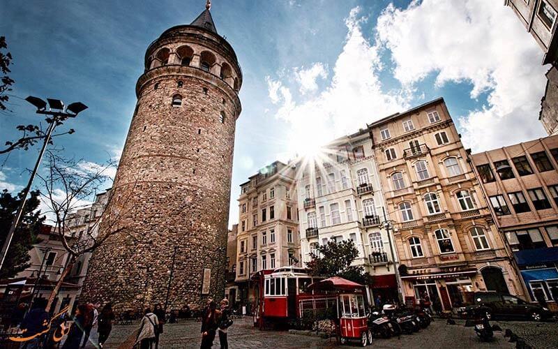 برج گالاتا-هتل گرند هیلاریوم استانبول