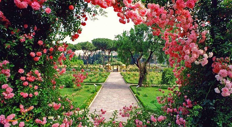 باغ پرتغال در رم