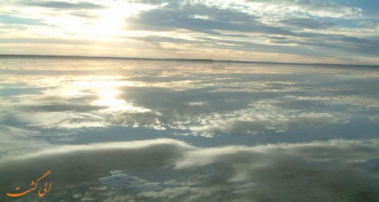 دریاچه مخرگه کرمان