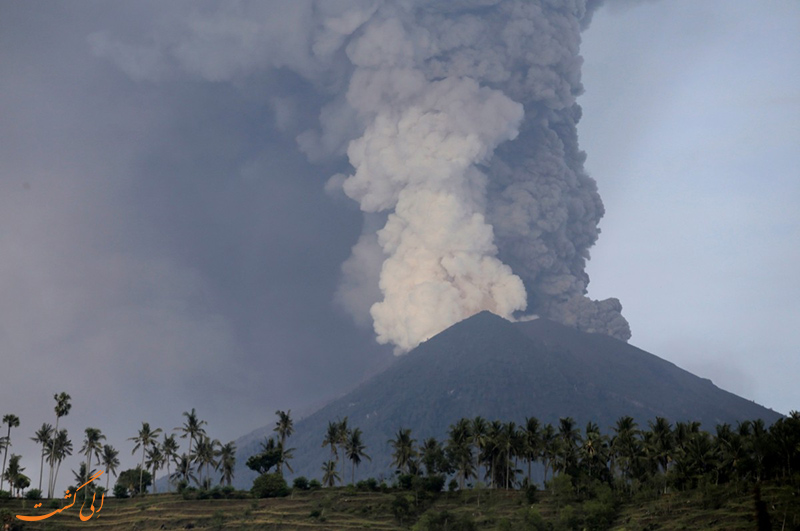 آتشفشان بالی