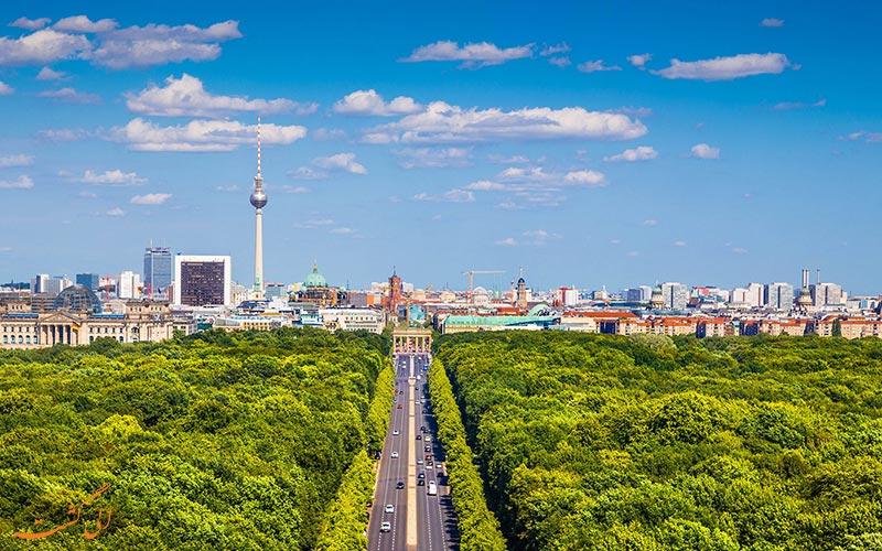 شهر سرسبز برلین