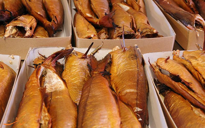 ماهی های دودی شهر آربروث