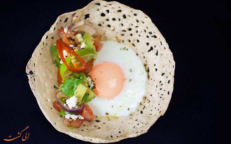 غذای Egg hoppers