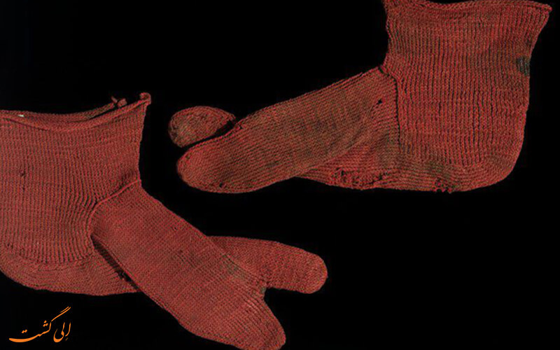 قدیمی ترین جوراب دنیا از مصر