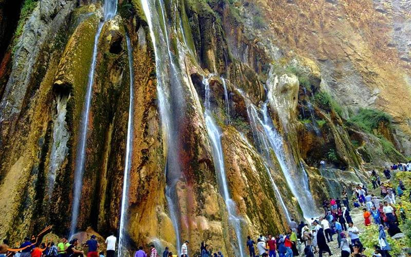 مارگون بزرگ ترین ابشار چشمه ای ایران