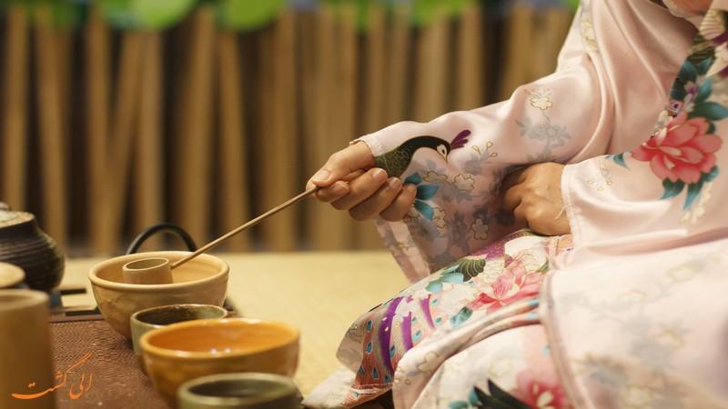 برگزاری مراسم چای