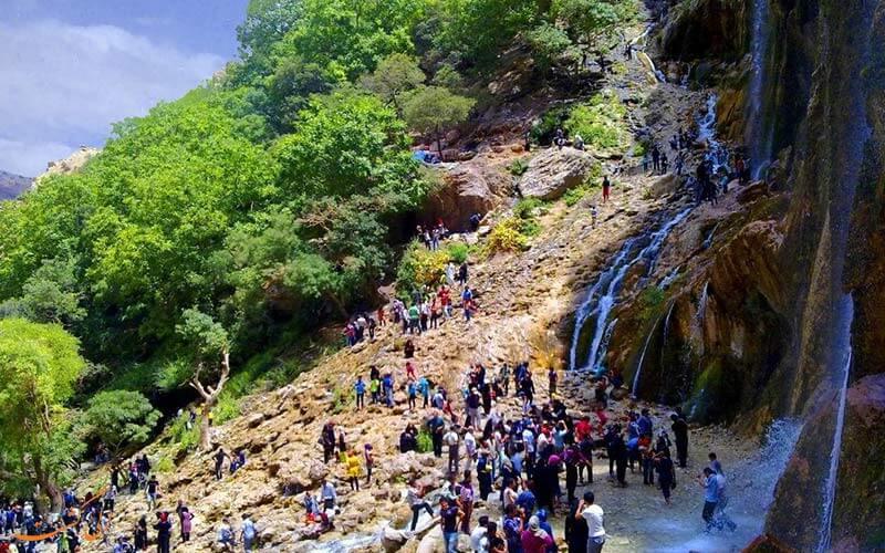 آبشار مارگون در استان فارس