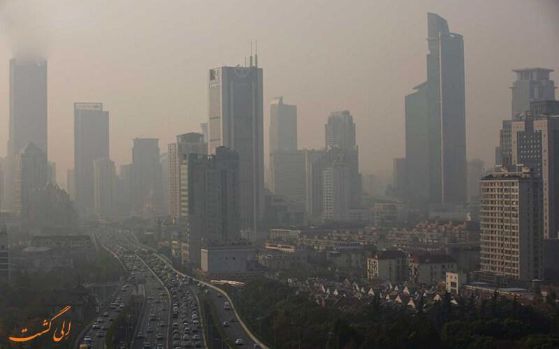 عوامل اصلی آلودگی هوا