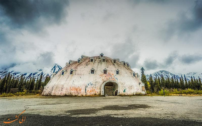 هتل اسکیمویی آلاسکا