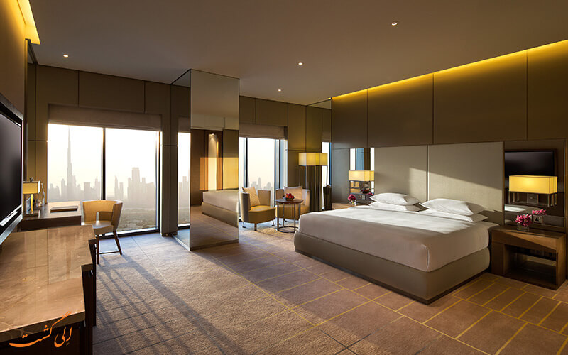 هتل حیات ریجنسی دبی | اتاق لوکس