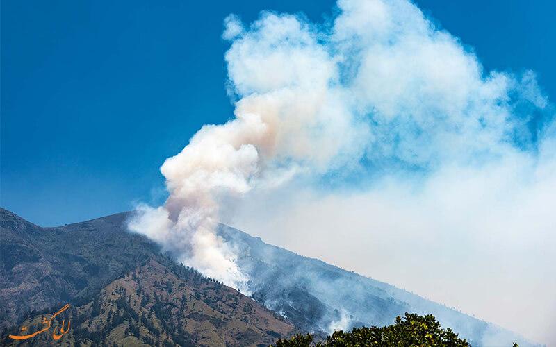 فعال شدن آتشفشان آگونگ