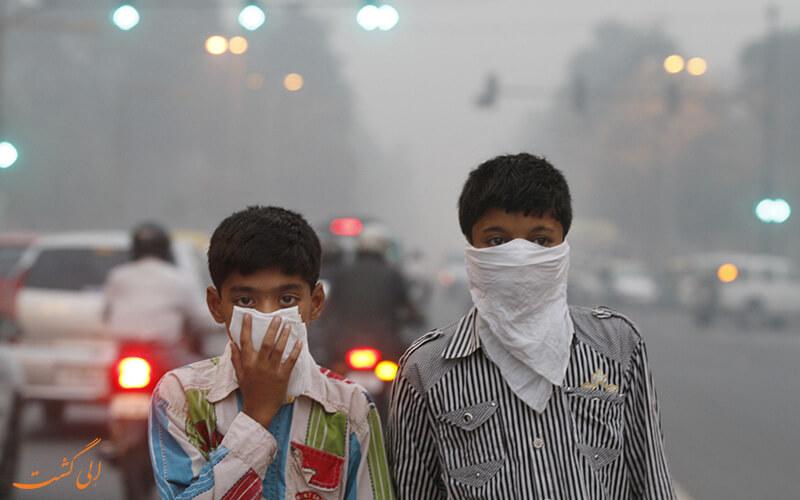 تاثیرات آلودگی هوا