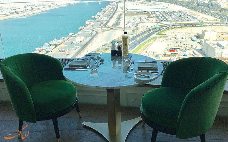 هتل حیات ریجنسی دبی | رستوران