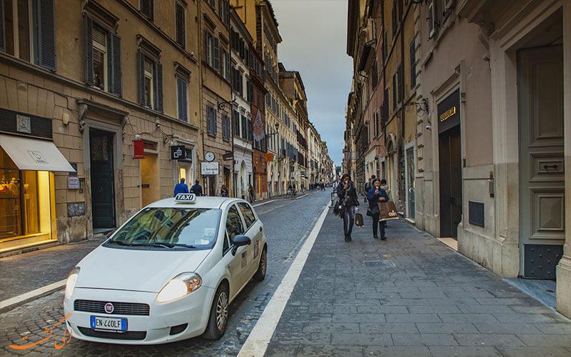 رم ایتالیا | تاکسی