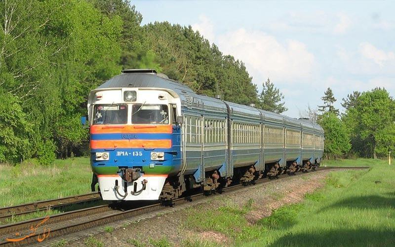 قطار در بلاروس