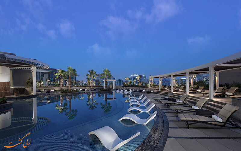 هتل حیات ریجنسی دبی | استخر