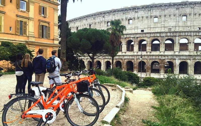 رم ایتالیا | تور دوچرخه سواری