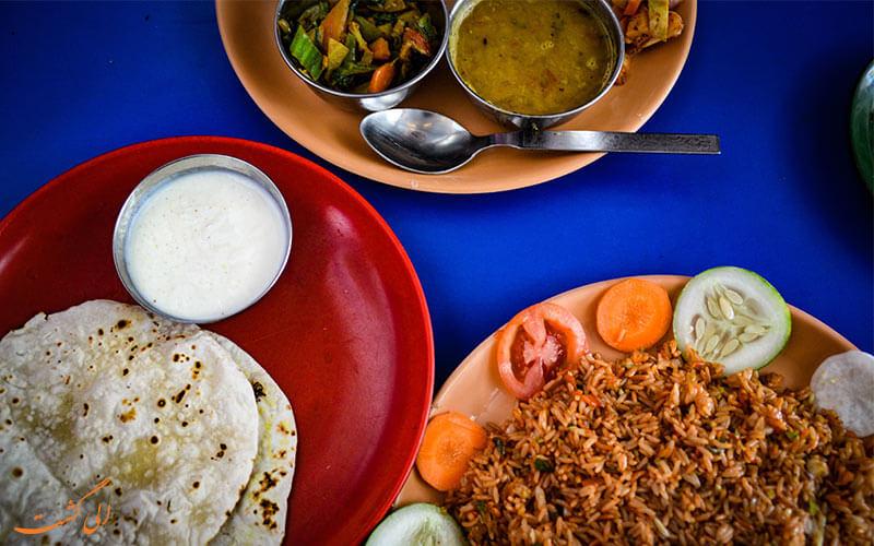 غذاهای محلی نپال