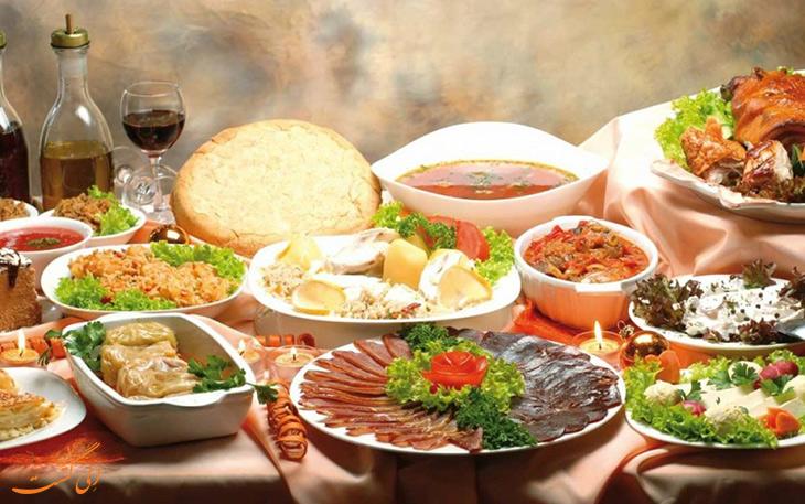 غذاهای محبوب در بلگراد