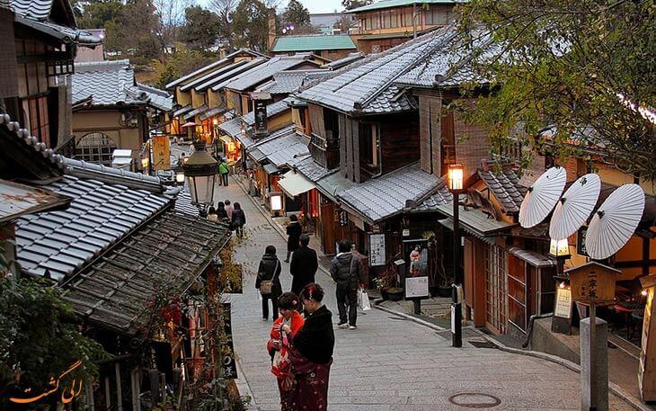منطقه قدیمی کیوتو