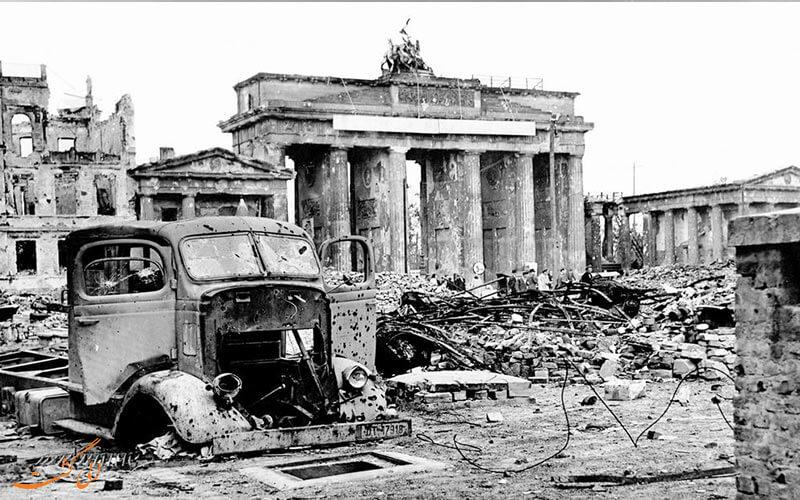 دروازه براندربورگ در زمان جنگ