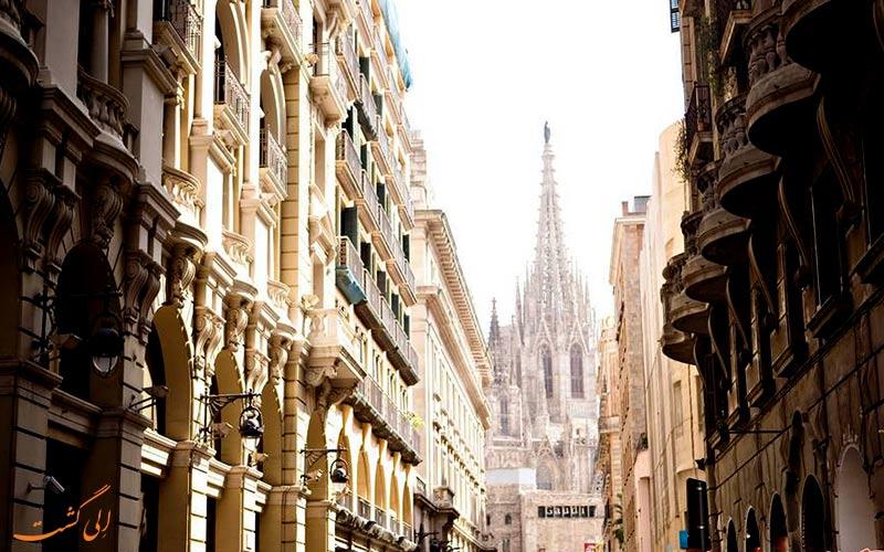 باری گوتیک در بارسلونا- هتل آکاسیا بارسلونا